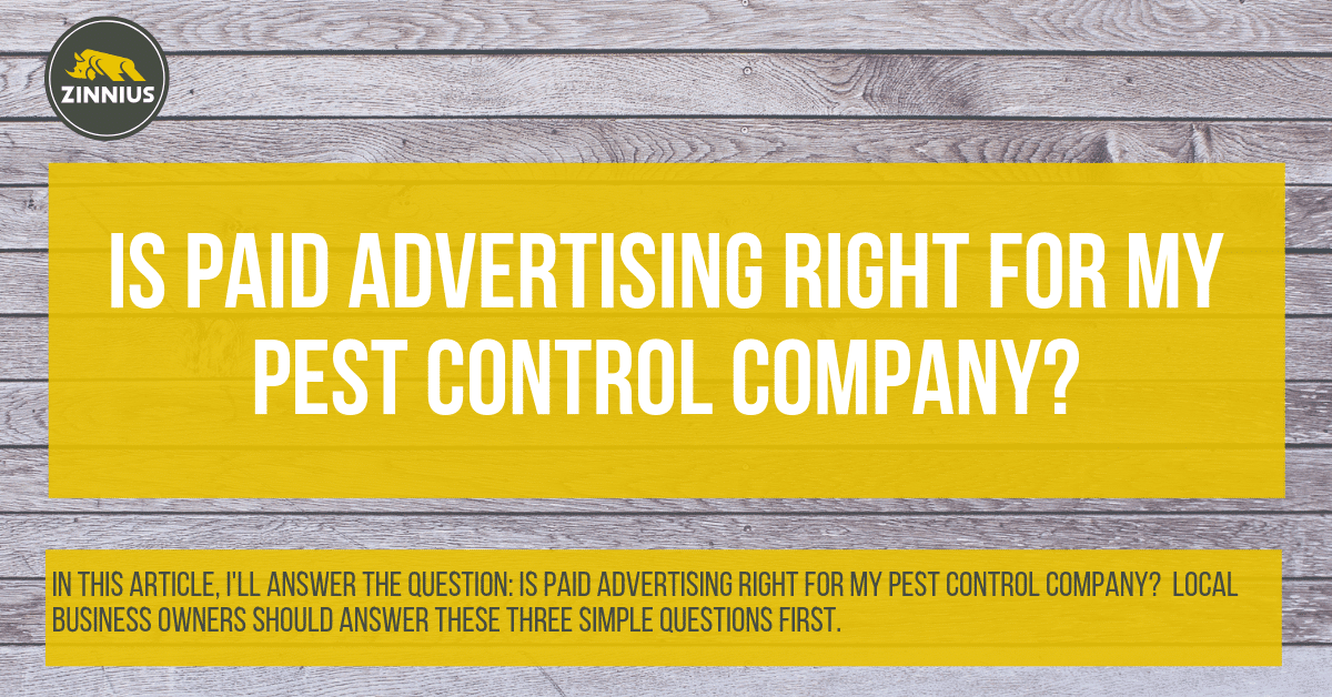 Is Paid Advertising Right For My Pest Control Company_