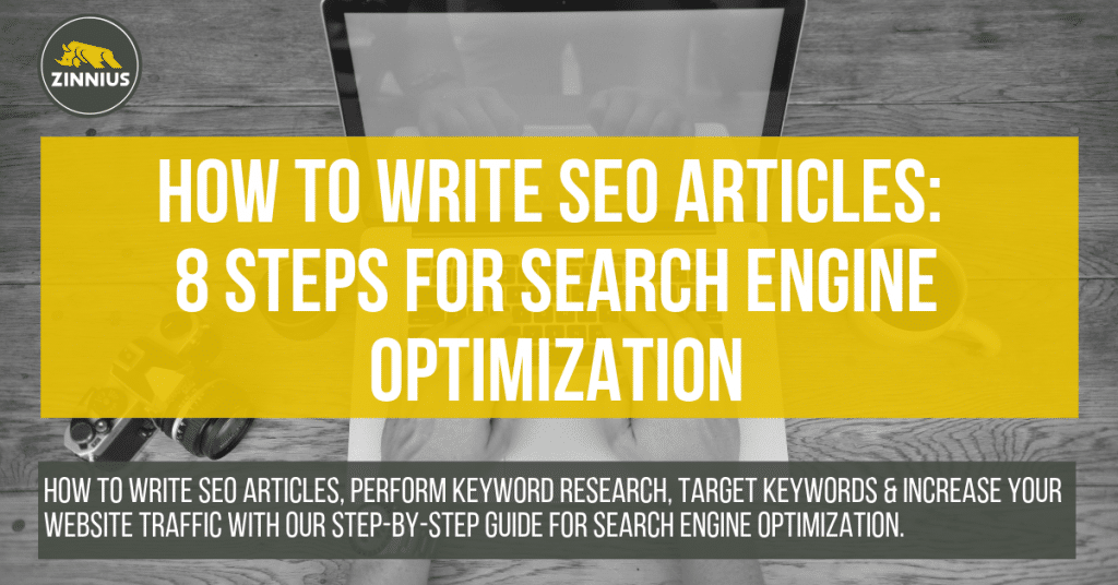 How to Write SEO Articles 8 Steps for Search Engine Optimization